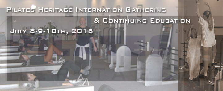 Pilates Heritage Seminar May 2015